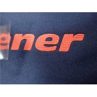 Buy cheap No Toxic Soft Colorful Matt Silicon Heat Transfer Clothing Labels  Environmental product