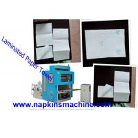 Buy cheap Jumbo Roll V Fold Toilet Paper Making Machine / Tissue Paper Converting Machine product