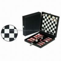 Buy cheap 3-in-1 Game Set, Includes Backgammon, Chess and Checker product