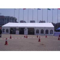 Buy cheap 12m Span Small Outdoor Event Tent Translucent UV Protection With Window product