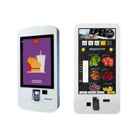 Buy cheap Food Ordering Self Service Kiosk , Touch Screen Display Kiosk With Pos System / Bill Printer product
