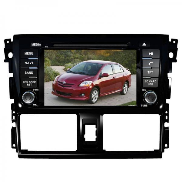 Quality Car dvd player navi TOYOTA GPS Navigation with dvd gps radio Vios Yaris for sale