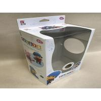 China Kids Cardboard Toy Boxes,Collapsible Soft Toy Packaging White / Transparent on sale