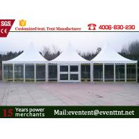 Buy cheap Metal Frame Commercial Pagoda Party Tents For Garden, Outdoor Canopies, Gazebo from Wholesalers
