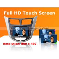 Quality Hyundai Accent Android Radio DVD Navi with Digital TV 3G Wifi for sale