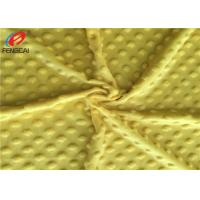 Buy cheap Super Soft 100% Polyester Minky Plush Minky Dot Fabric Baby Blanket Fabric product