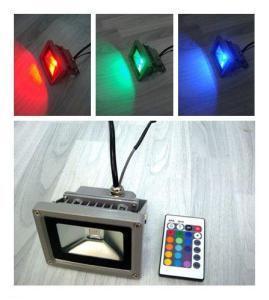Buy cheap 5W/10W/20W/30W/40W/50W/70W/80W/100W  RGB LED Floodlight product