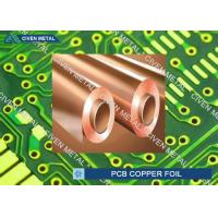 Buy cheap 550mm - 1295mm Width ED Copper Foil for Printed Circuit Board product