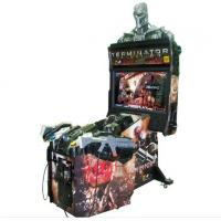 Quality  Coin Operated Online Shooting Video Games Terminator Salvation 4 Arcade Cabinet Games Machines for sale