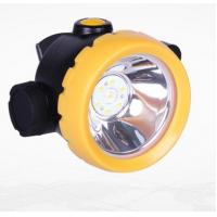 Buy cheap Inductive Charging Coal Miners Hat Light , Rechargeable Miners Headlamp product
