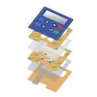 Buy cheap LED Tactile embossed membrane switch product