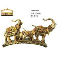 Buy cheap Home Decoration Resin Elephant Figurine (70500-A) product