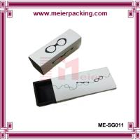 Buy cheap White coated paper drawer box/Recycle paper sunglass box ME-SG011 product