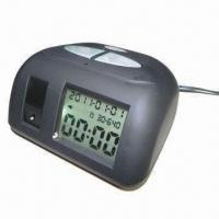 Buy cheap Hidden Security Clock Camera with Color CMOS Sensor with Cycle Recording, Measures 100 x 55 x 95mm product