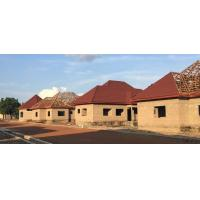 China AVIC Construction Assitant Weather resistance nature color sand stone coated metal roof tiles for Nigeria on sale