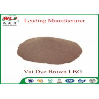 Buy cheap Synthetic Textile Reactive Dyes Vat Brown Lbg Textile Dyes And Chemicals from wholesalers