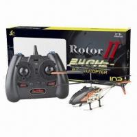 Buy cheap 2.4GHz RC alloy helicopter with gyro and LED light, suitable for indoor and outdoor product