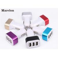 Buy cheap Data Transfer USB Car Charger / Mobile Phone Charger Prevent Short Circuit product
