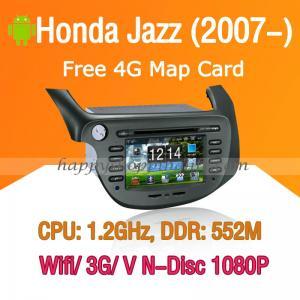 Buy cheap Honda Jazz Android Autoradio DVD GPS Navi Digital TV Wifi 3G product