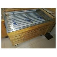 Buy cheap Powder Coated Wooden Shop Shelving For Supermarket Vegetable / Fruit Display from Wholesalers