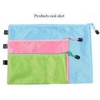 Buy cheap Pencil Pen Pouch School Class Binder Pocket Case Office Stationery Bag with 6 Colors,custom nylon stationery bag/pencilc product