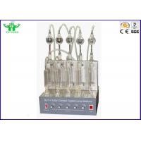 Buy cheap ASTM D1266 Oil Analysis Equipment Gasoline And Kerosene Sulfur Content Tester Lamp Method product