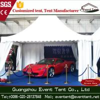 Buy cheap Custom Scale Aluminum Frame Tent White , Water Resistant Tent  For Auto Show Exhibition from Wholesalers