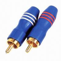 Buy cheap RCA male, suitable for 24k gold-plated metal shell product