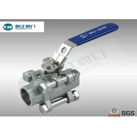 Quality Stainless Steel 316 L Sanitary Ball Valve in Welding Ends For Beer Industry for sale