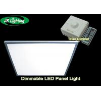 Buy cheap Energy Saving Square Dimmable LED Panel Light , Ultra Thin Recessed LED Lighting product