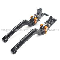 Buy cheap Adjustable Long Folding Brake Clutch Levers , Brake And Clutch Levers For Motorcycles product