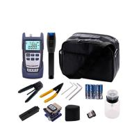 Buy cheap FTTH Fiber Optic Tools Kit With Optical Power Meter And Visual Fault Locator product
