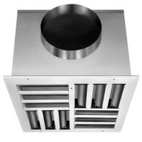 Buy cheap Aluminum square 4-way ceiling diffuser product