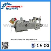 Buy cheap Fully Automatic V-shaped Paper Bag Making Machine product
