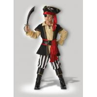 Buy cheap Pirate Cosplays Scoundrel Teen Boy Halloween Costumes Black Red product
