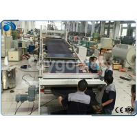 Buy cheap Automatic PVC Board / Plastic Sheet Making Machine Extrusion Line High Precision product