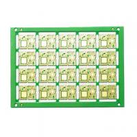 Buy cheap 4 Layer half hole PCB used for wireless equipment product
