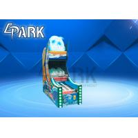 China Amusement park kids lovely design Dolphin Bowling shooting ball video machine coin operated on sale