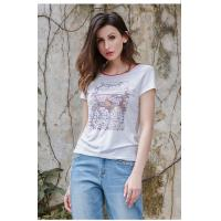 Buy cheap 2019 Women's Fashion New Latest Design Short Sleeve T Shirt with Printed product