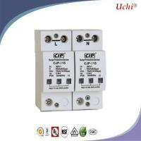 Buy cheap 50ka Low Voltage Varistor Surge Protectors Direct Lightning Protection Of Overhead Lines Door product