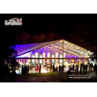 Buy cheap Large Clear Luxury Wedding Tents Decoration With PVC Roof Cover product