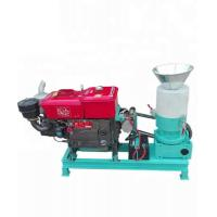 China AMSP120D Mini Flat Die Pellet Mill Designed for Pellet Stove and Poultry Feeding on sale