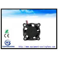 Buy cheap High Temperature Dc Brushless Fan 12v , Small Electronic Cooling Fans 25mm X 25mm X 10mm product