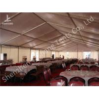 China Large Buffet Waterproof Party Tents For Hire 10X30 Temporary Aluminium Frame Marquee on sale