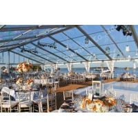 Buy cheap Transparent Fabric Aluminum Frame Tent Outdoor Wedding Marquee Party Event product
