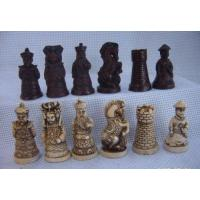 China Medieval Warrior theme chess sets on sale