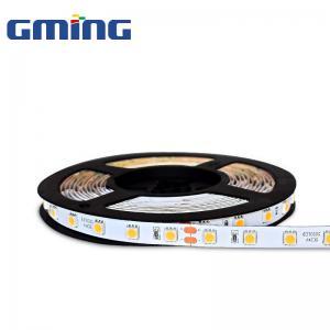 China 2Oz PCB 24VDC 620-630nm 9.6W IP20 5050 RGB LED Strip on sale