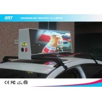 Buy cheap High Brightness Led Taxi Top Advertising Signs With Wireless Control , 192×64 Pixel product