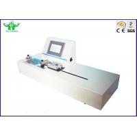 Buy cheap ASTM F1921 Flexible Package Hot Tack Testing Machine with PLC Control product