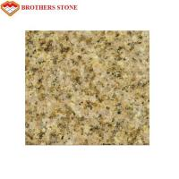 Buy cheap Natural Stone Flamed Granite Stone G682 Yellow Sand Granite Strong Stain Resistance product